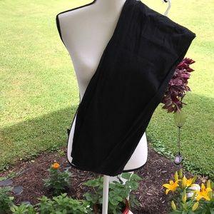 XL Tall denim & company Black Slacks